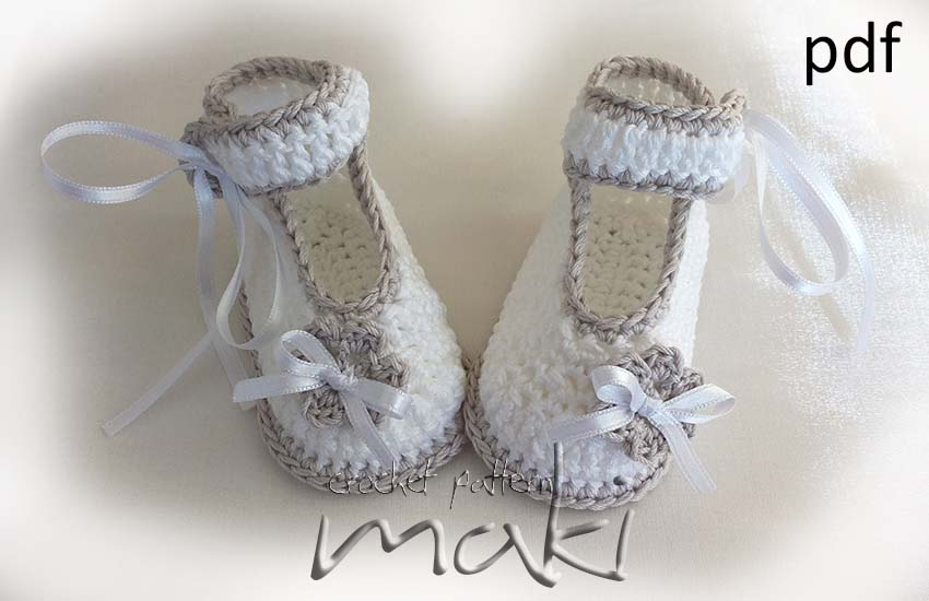 Crochet Pattern Baby Booties Ballerina Perfect For Special